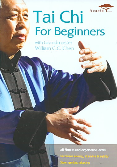 TAI CHI FOR BEGINNERS WITH GRANDMASTE BY CHEN,WILLIAM C. C. (DVD)
